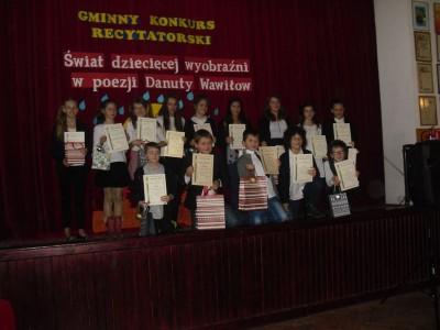 Świat dziecięcej wyobraźni w poezji Danuty Wawiłow – konkurs recytatorski