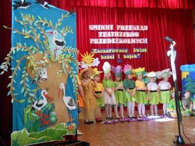 Zaczarowany świat baśni i bajek – Przegląd Teatrzyków Przedszkolnych