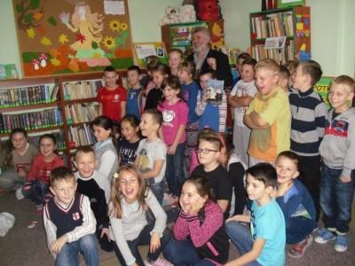 Spotkanie autorskie dla dzieci ze Zbigniewem Kołbą
