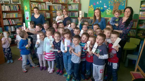 Biblioteka na Was czeka – wizyta przedszkolaków