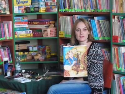 Warsztaty literacko-plastyczne z Kariną Znamirowską