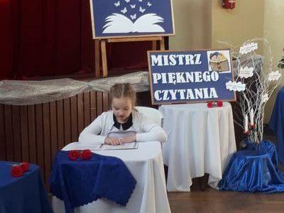 """""""Mistrz Pięknego Czytania"""" – Gminny Konkurs Czytelniczy"""