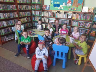 Biblioteka na Was czeka (2) – wizyta przedszkolaków