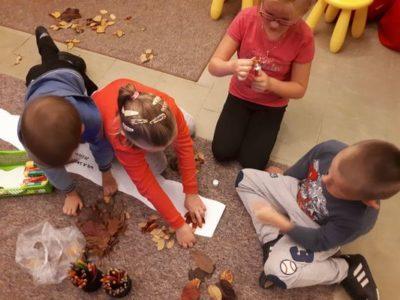 Barwy jesieni – spotkanie Klubu Małego Czytelnika