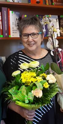 Pożegnanie bibliotekarki. Pani Zofia Biesiada odeszła na emeryturę