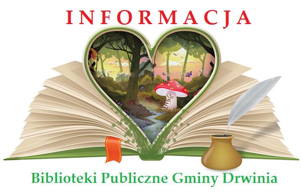 Informacja dla Czytelników Bibliotek Publicznych Gminy Drwinia