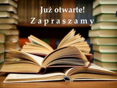 Biblioteki ponownie otwarte! Zapraszamy czytelników
