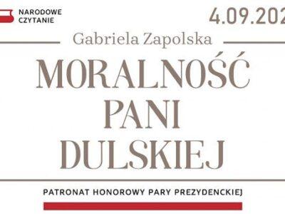 """Narodowe Czytanie – """"Moralność pani Dulskiej"""""""